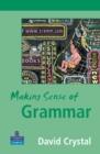 Image for Making sense of grammar