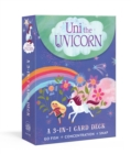 Image for Uni the Unicorn 3-in-1 Card Deck : Card games include Crazy Eights, Concentration, and Snap