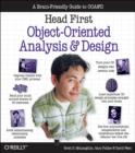 Image for Head first object-oriented analysis and design
