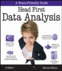 Image for Head first data analysis