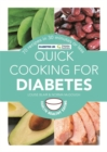 Image for Quick cooking for diabetes  : 70 recipes in 30 minutes or less