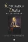 Image for Restoration drama  : an anthology