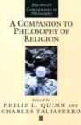 Image for A companion to philosophy of religion