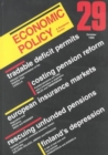 Image for Economic Policy 29