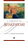 Image for A companion to Shakespeare