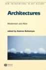 Image for Architectures  : modern to postmodern