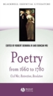Image for Poetry from 1660 to 1780  : Civil War, Restoration, revolution