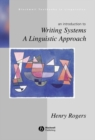 Image for Writing systems  : a linguistic approach