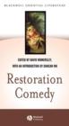 Image for Restoration comedy