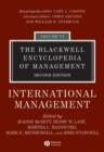 Image for The Blackwell Encyclopedia of Management : International Management