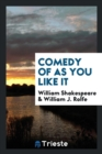 Image for Comedy of as You Like It