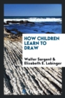 Image for How Children Learn to Draw
