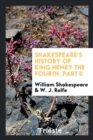 Image for Shakespeare's History of King Henry the Fourth. Part II