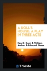 Image for A Doll's House : A Play in Three Acts