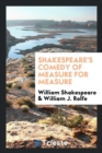 Image for Shakespeare's Comedy of Measure for Measure