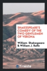 Image for Shakespeare's Comedy of the Two Gentlemen of Verona