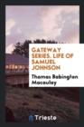 Image for Macaulay's Life of Samuel Johnson