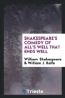 Image for Shakespeare's Comedy of All's Well That Ends Well