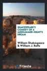Image for Shakespeare's Comedy of a Midsummer-Night's Dream