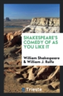 Image for Shakespeare's Comedy of as You Like It