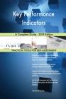 Image for Key Performance Indicators A Complete Guide - 2019 Edition