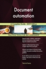 Image for Document automation A Complete Guide - 2019 Edition