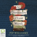Image for The Dictionary of Lost Words