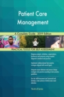 Image for Patient Care Management A Complete Guide - 2019 Edition