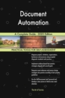 Image for Document Automation A Complete Guide - 2020 Edition