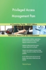 Image for Privileged Access Management Pam A Complete Guide - 2020 Edition