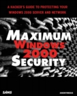 Image for Maximum Windows 2000 security