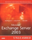 Image for Microsoft Exchange server 2003 unleashed