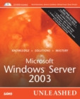 Image for Microsoft Windows Server 2003 unleashed