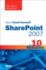 Image for Sams teach yourself SharePoint 2007 in 10 minutes