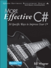Image for More effective C`  : 50 specific ways to improve your C`