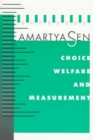 Image for Choice, welfare and measurement
