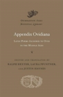 Image for Appendix Ovidiana : Latin Poems Ascribed to Ovid in the Middle Ages