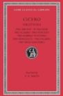 Image for Cicero[14]: Pro Milone, In Pisonem, Pro Scauro, Pro Fonteio, Pro Rabirio Postumo, Pro Marcello, Pro Ligario, Pro Rege Deiotaro