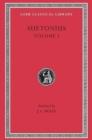 Image for Suetonius : Vol 1