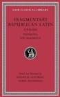 Image for Fragmentary Republican Latin : Volume I