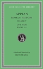 Image for Roman History, Volume V : Civil Wars, Books 3-4