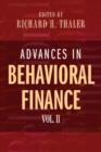 Image for Advances in behavioral financeVol. 2