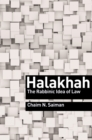 Image for Halakhah  : the rabbinic idea of law