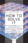 Image for How to solve it  : a new aspect of mathematical method