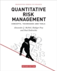 Image for Quantitative risk management  : concepts, techniques and tools