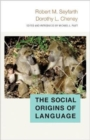 Image for The social origins of language