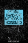 Image for Optimal transport methods in economics