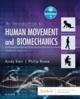 Image for An introduction to human movement and biomechanics