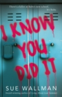 Image for I know you did it
