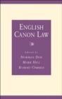 Image for English canon law  : essays in honour of Bishop Eric Kemp